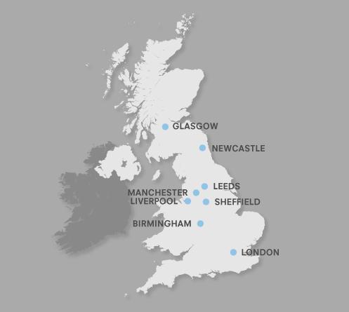 UKLP locations