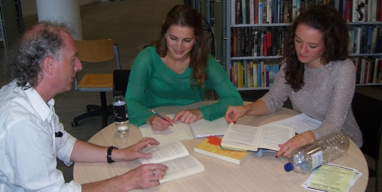 One Of Our 2 To 1 Language Courses In Cardiff