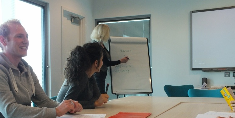 One Of Our Corporate Group Language Courses In Crewe