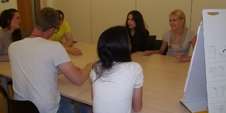 One Of Our Corporate Group Language Courses In Leicester