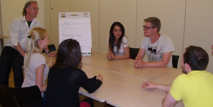 One Of Our Corporate Group Language Courses In Chichester