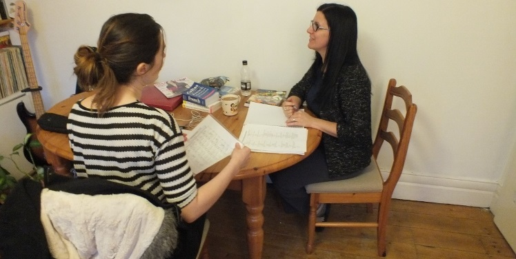 French Course in Leeds Student and Tutor